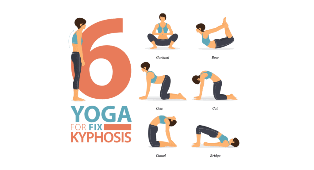 6 Yoga Poses to Fix Kyphosis